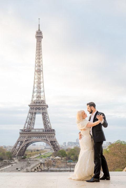 Hochzeit Eiffel Turm