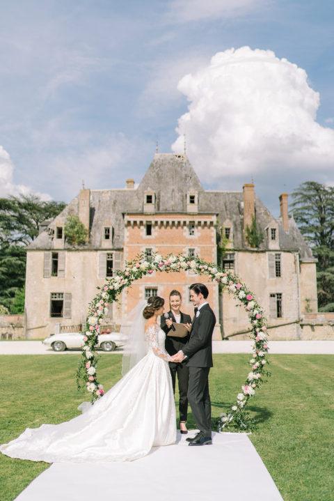Schloss Hochzeit Frankreich