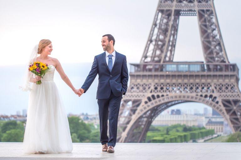 Elopement Hochzeit in Paris