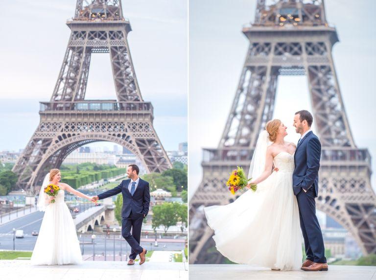 Hochzeit Elopement in Paris