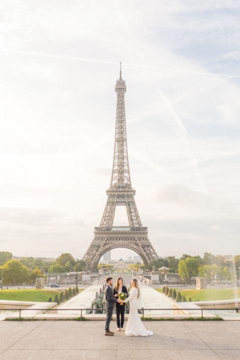 Elopement Eiffel Turm