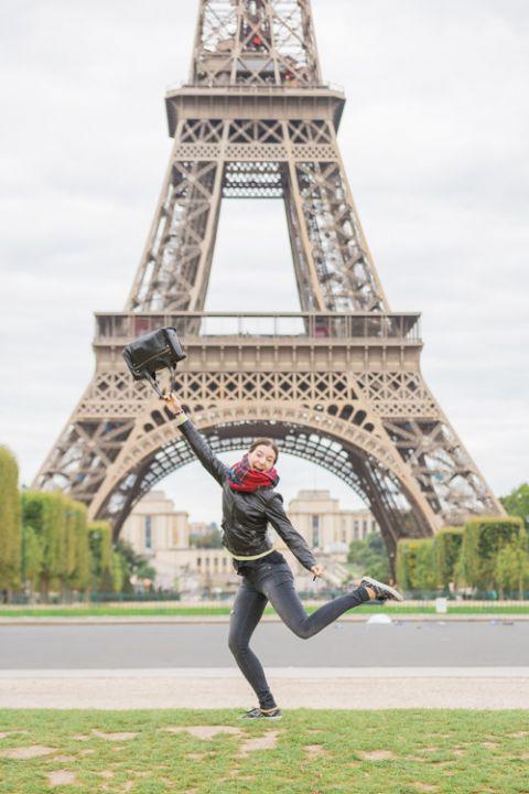 Freie Traurednerin in Paris Eiffel Turm