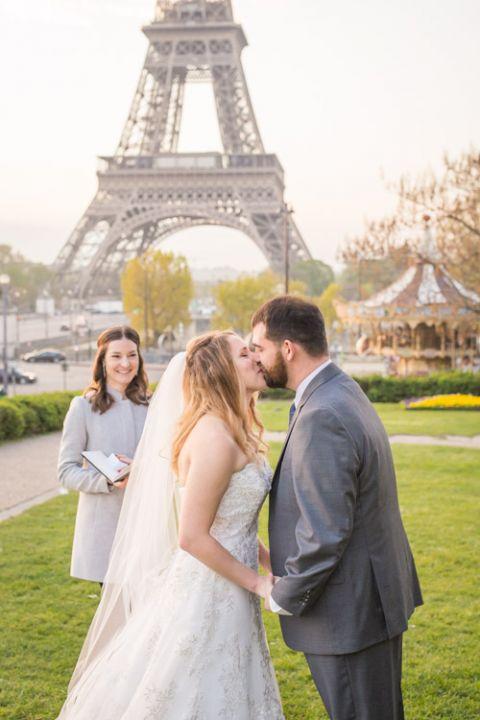 Freie Trauung Paris eiffel turm