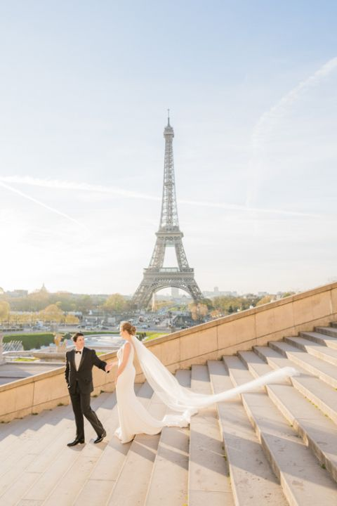 heiraten in paris am eiffel Turm