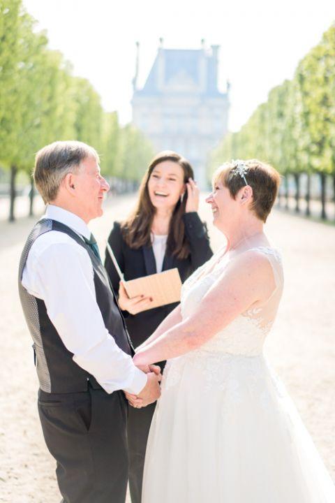 Zeremonie Erneuerung der Eheversprechen Paris
