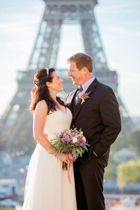 Hochzeitstag in Paris